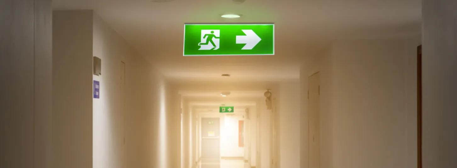 Emergency Lighting Corridor